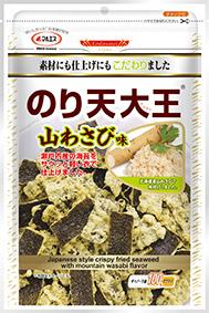 のり天大王(わさび醤油味)(内容量:91g)