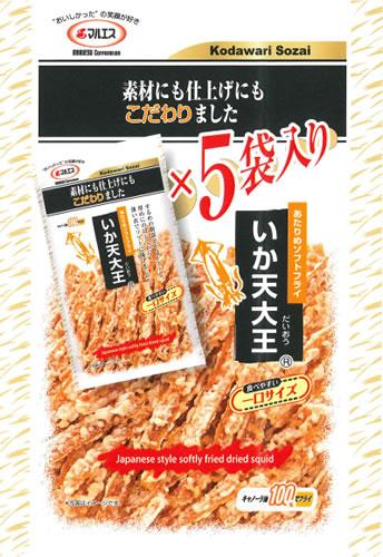 いか天大王 5袋入ビッグパック(内容量:180g(36g×5袋))
