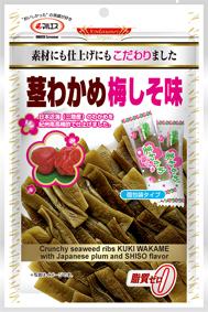 茎わかめ梅しそ味(内容量: 70g(個包装込み))