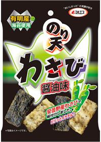 のり天(わさび醤油味)(内容量:24g×5袋入)