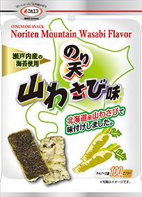 のり天  わさび醤油味(内容量:27g×5袋入)