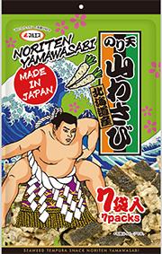 のり天山わさび 北海道産 7袋入ビッグパック(内容量:189g(27g×7袋))