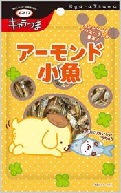 【サンリオキャラクターズ・ポムポムプリン】アーモンド小魚(内容量:42g(6g×7袋))