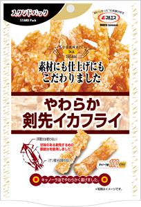 スタンドパック やわらか剣先イカフライ(内容量:41g)