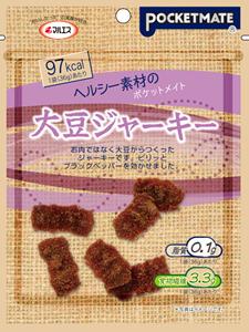 ポケットメイト 大豆ジャーキー(内容量:36g×5袋入)