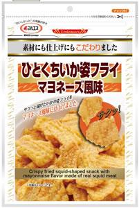 ひとくちいか姿フライ マヨネーズ風味(内容量:60g)