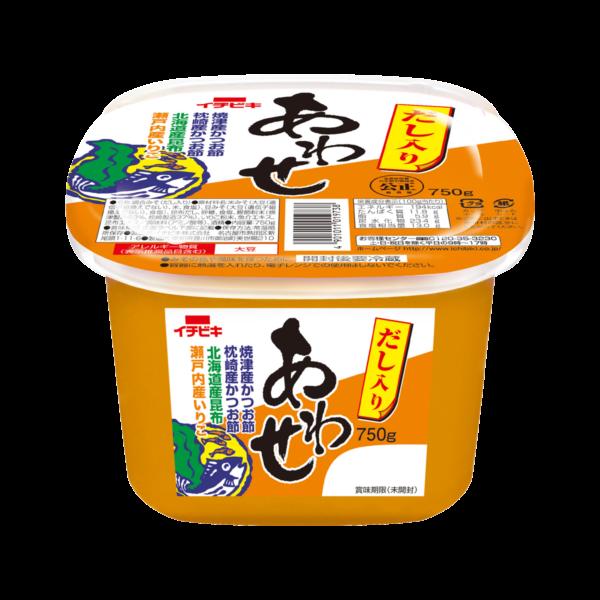 だし入りあわせ (カップ入り・750g)