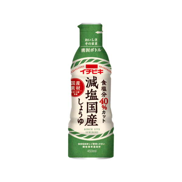 減塩国産しょうゆ (450ml) (旧10798Bとは味が違います)