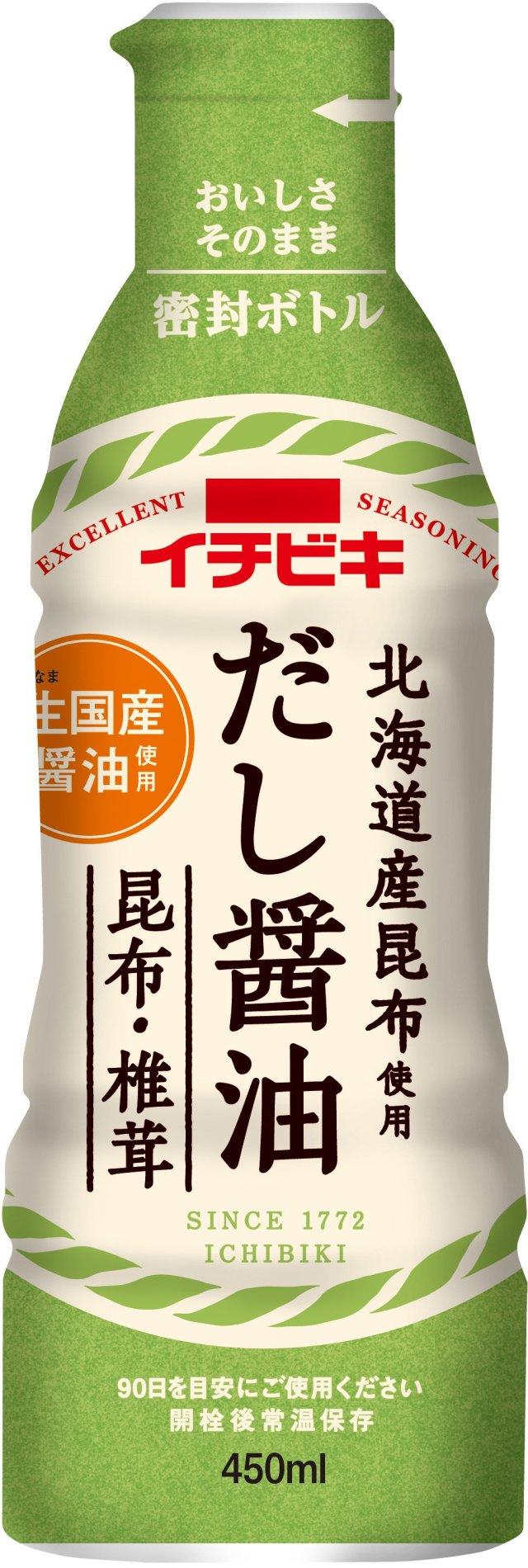 だし醤油昆布・椎茸(450ml)
