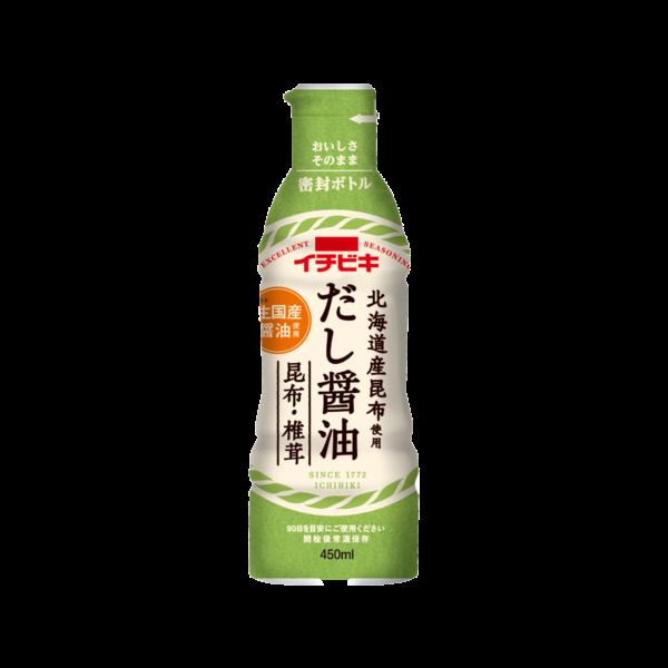 だし醤油昆布・椎茸 (450ml)