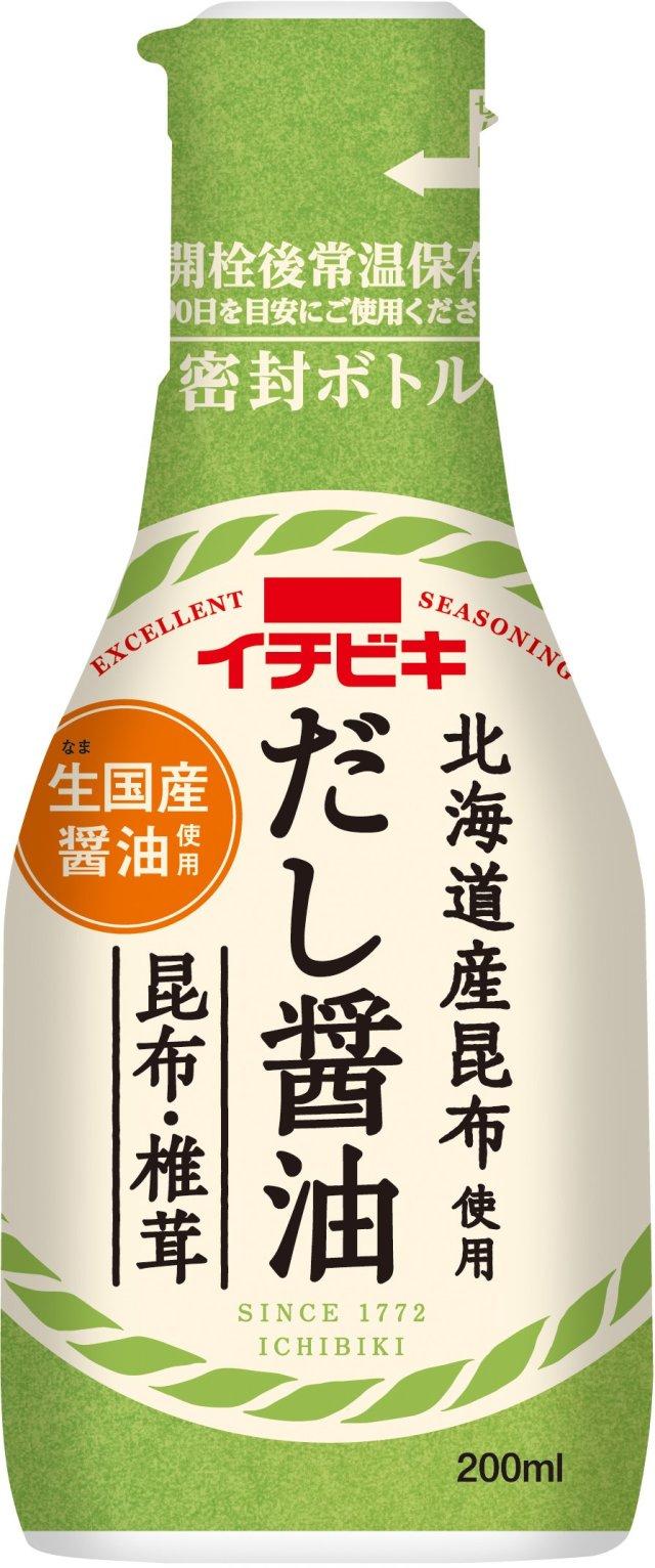 卓上しょうゆ だし醤油昆布・椎茸(200ml)