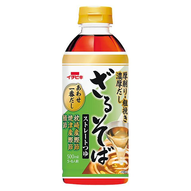 ストレートざるそばつゆ (500ml)