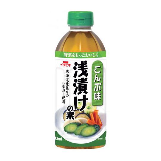 浅漬けの素こんぶ味 (ペットボトル・500ml)