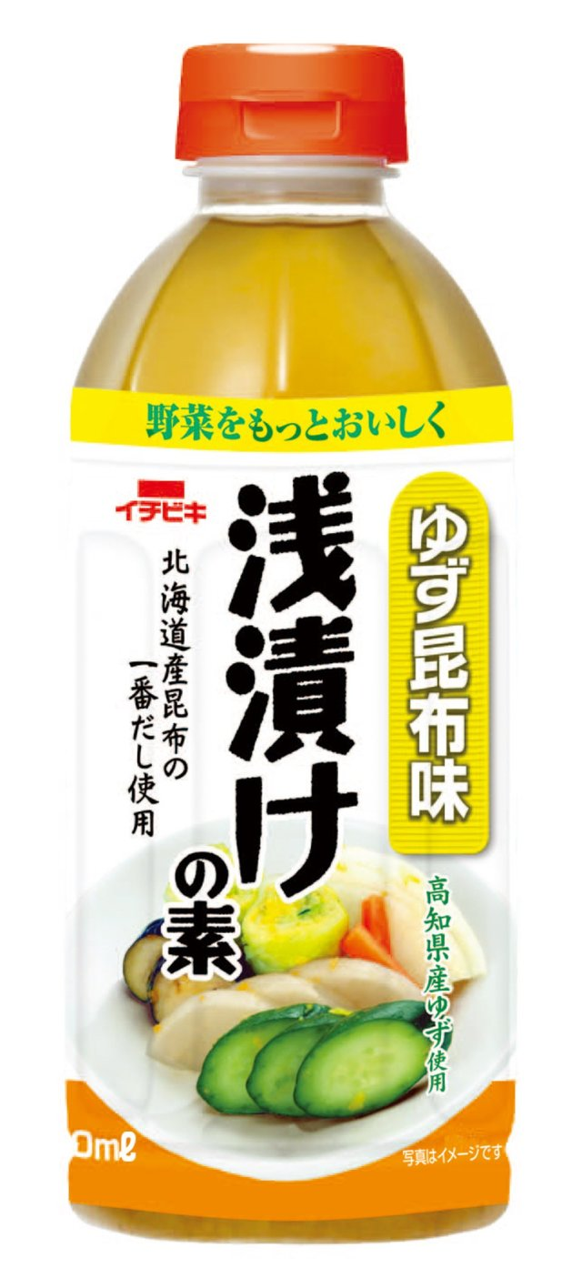 浅漬けの素ゆず昆布味 (ペットボトル・500ml)