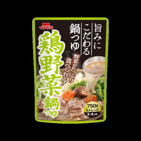 鶏野菜鍋つゆ 750g