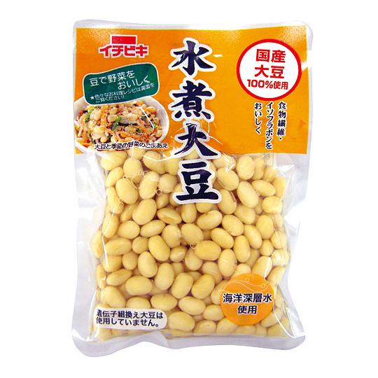 国産水煮大豆  155g×20