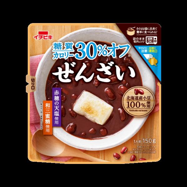 糖質カロリー30%オフ濃厚ぜんざい (150g×10)