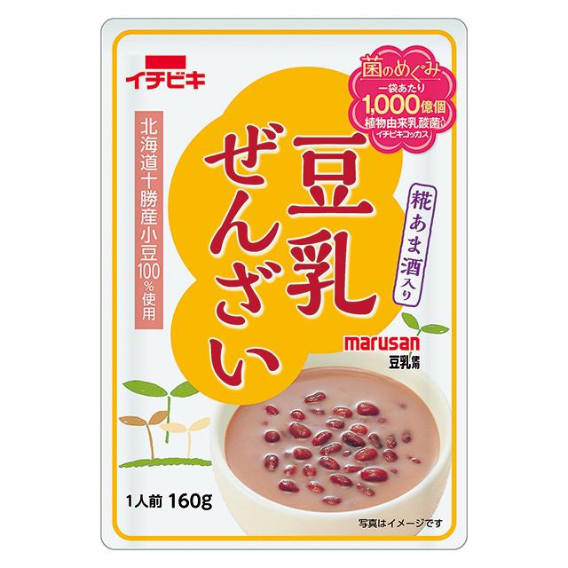 豆乳ぜんざい 糀あま酒入り (160g)
