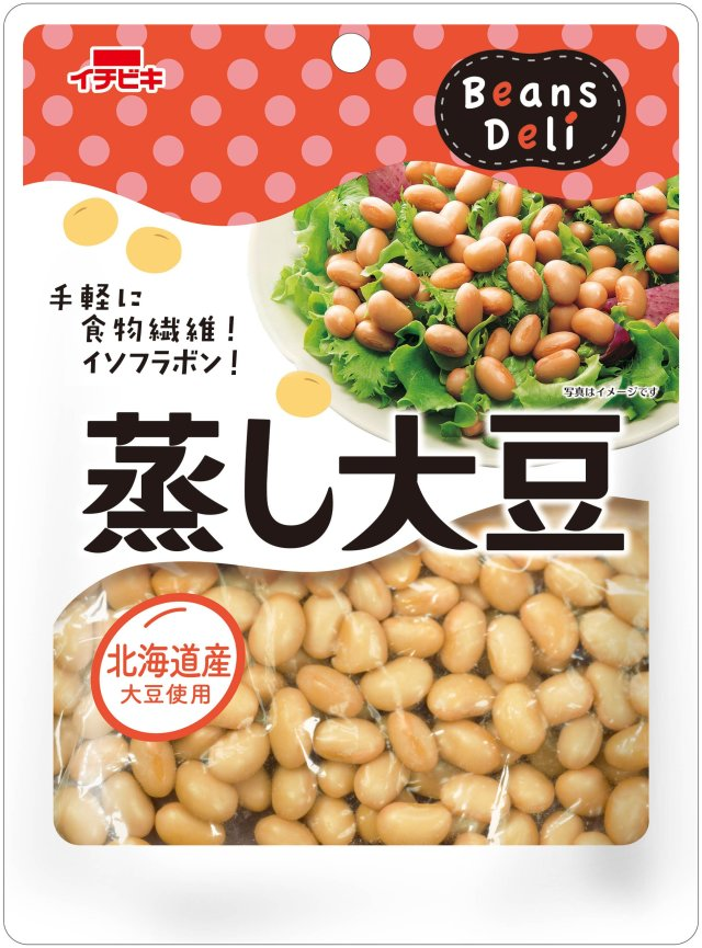 蒸し大豆 110g×10