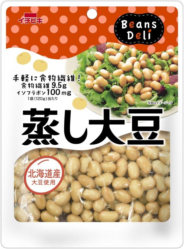 蒸し大豆 120g×10