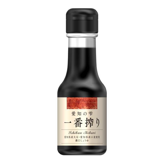 百周年記念商品/愛知の雫(しずく) 一番搾り[こいくちしょうゆ] 100ml