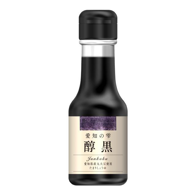 百周年記念商品/愛知の雫(しずく) 醇黒(じゅんこく)[たまりしょうゆ] 100ml