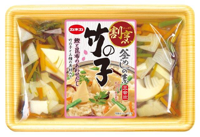 割烹 竹の子釜めしの素 (3合用 ×6)