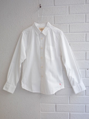 dedc7663bcbd5 ベルギー子供服 bellerose kids ベルローズキッズ ボーイズコットン長袖シャツ. [17SS]bellerose kids ボーイズ  長袖シャツ(ホワイト) [8才] [14才]