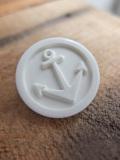 パリ蚤の市 クリニャンクールのデッドストックアクセサリー 錨モチーフボタン