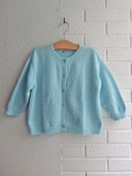 CARAMEL キャラメル caramel baby&child Morganite Cardigan, Ice Blue 長袖カーディガン