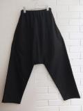 LE VESTIAIRE DE JEANNE LE VESTIAIRE DE CLE VDJ,Saroual trousers, black wool blend