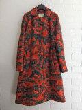 ベルギー婦人服 bellerose woman プリントウール起毛コート