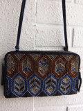 ベルギー婦人服 bellerose woman ビーズ刺繍ポシェット