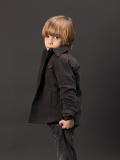 イタリア子供服 DOUUOD 秋冬コレクション 裏起毛サファリジャケット