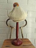 イタリア老舗帽子ブランド GREVI グレヴィ ボンボンニットベレー