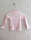 フランス子供服 Lili gaufrette リリゴ−フレット ベビーリブハイネック長袖Tシャツ