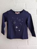 フランス子供服 Lili gaufrette リリゴ−フレット ベビーウサギプリント長袖Tシャツ