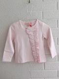フランス子供服 Lili gaufrette リリゴ−フレット リボン長袖Tシャツ