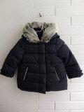 フランス子供服 Lili gaufrette リリゴ−フレット ファー中綿コート