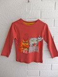 milk on the rocks ミルクオンザロックス プリント長袖Tシャツ T-Shirt Cat Movie