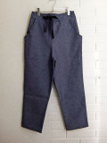 E VESTIAIRE DE JEANNE LE VESTIAIRE DE CLE VDJ Pocket trousers blue denim ポケット付きデニムロングパンツ