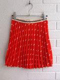 ベルギー子供服 bellerose kids ベルローズキッズ Fish柄プリーツスカート