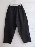 le vestiaire de jeanne Classic trousers black linen