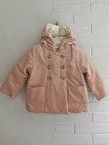 フランス子供服 bonpoint ボンポワン コーデュロイ中綿フードコート
