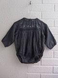 子ども服オッティ フランス子供服 BONTON ボントン 刺繍スモッキング長袖ブルマロンパース
