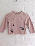 フランス子供服 emile et ida エミールエイダ 刺繍Tシャツ