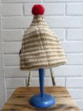 イタリア老舗帽子ブランド GREVI グレヴィ トンガリボーダーニットキャップ