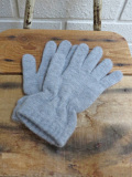 イタリア老舗帽子ブランド GREVI グレヴィ ニットグローブ・5本指手袋