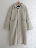 オッティ VDJ  le vestiaire de jeanne Sculptor coat  tourterelle wool drap  スカルプター厚地ウールコート