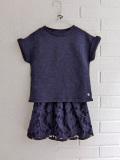 ベルギー子供服 bellerose kids ベルローズキッズ FANILA DRESS ジャージードッキングワンピース